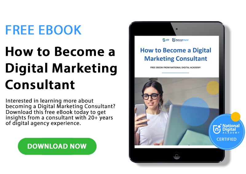 free ebook - how to become a digital marketing consultant