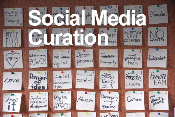 what is social media curation definition