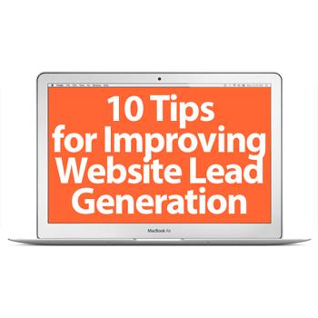 website lead generation tips