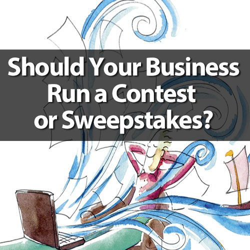 online contest or sweepstakes marketing