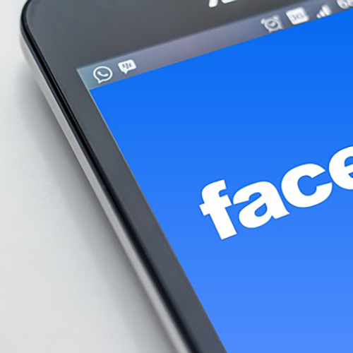Phone with Facebook