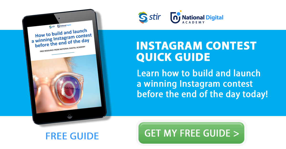 free instagram contest instructions from a digital marketing consultant